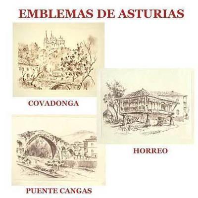 Carboncillos Emblemas de Asturias