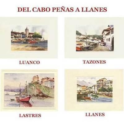 Acuarelas del Cabo Peñas a Llanes