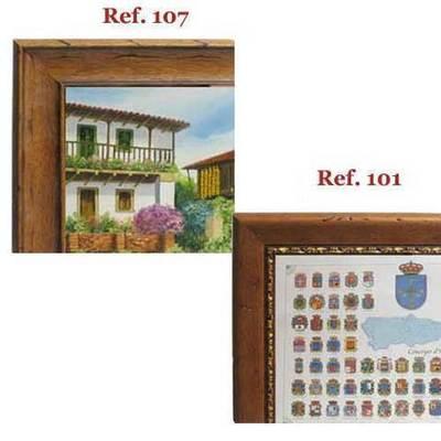 Enmarcacion poster asturianos
