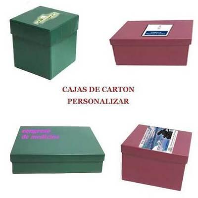 Cajas de carton para regalos personalizadas