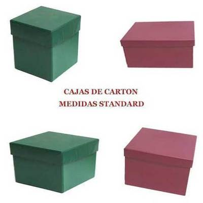 Cajas de carton colores para regalos