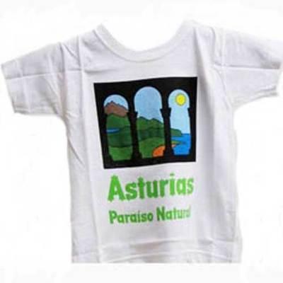 Camisetas paraiso natural niños y jovenes
