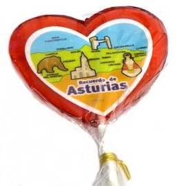 Piruleta corazon Asturias