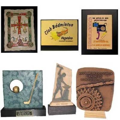 Placas representacion, regalo y protocolo