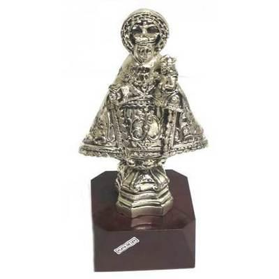 Virgen Covadonga figura con peana