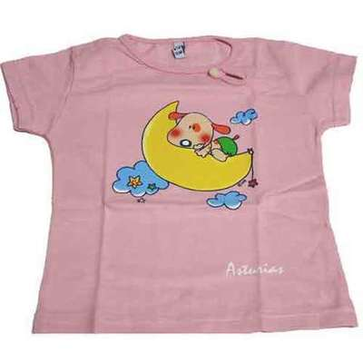 Perrito y luna rosa niños