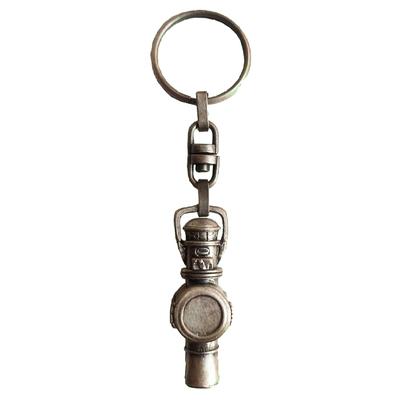 Llavero Virgen de Covadonga color dorado