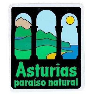 Pegatina Paraiso natural