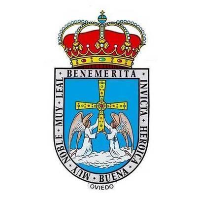 Pegatina Escudo de Oviedo