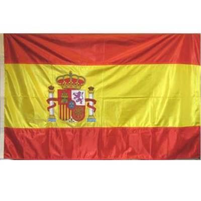 Banderas España escudo bordado -  oficial