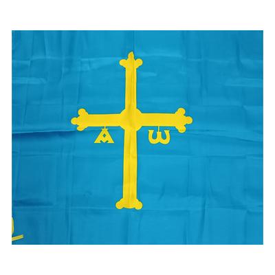 Banderas Asturias mediana - raso