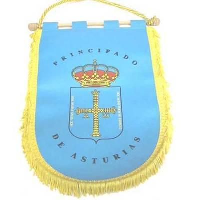 Banderines escudo Asturias