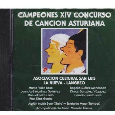 Campeones XIV concurso de la cancion asturiana