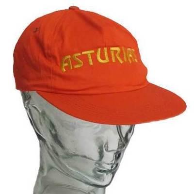 Gorras Asturias bordado - roja