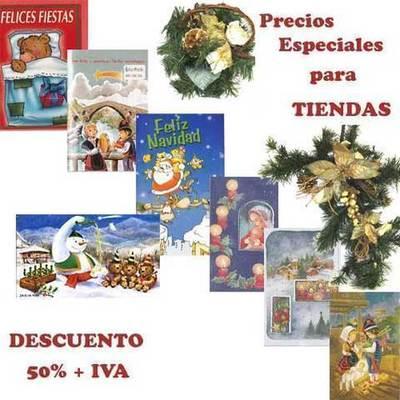 Postales de Navidad para tiendas