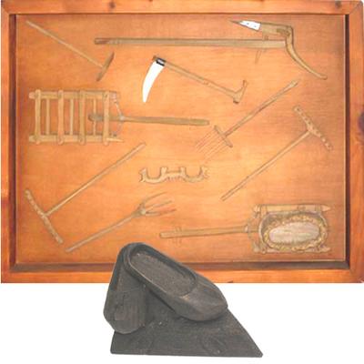Cuadro utensilios de Campo
