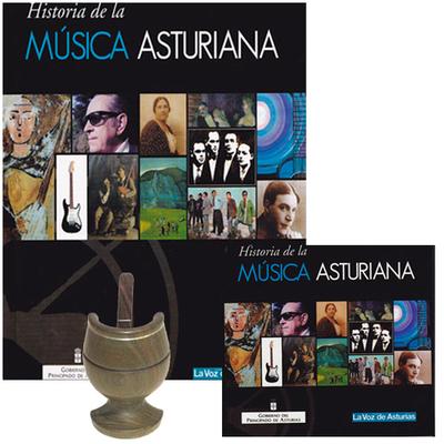 Libro + 24 CD Historia de la música asturiana