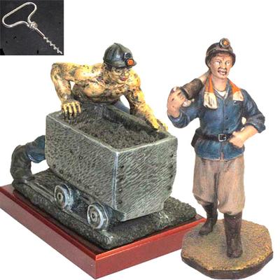 Minero vagoneta + Minero picador
