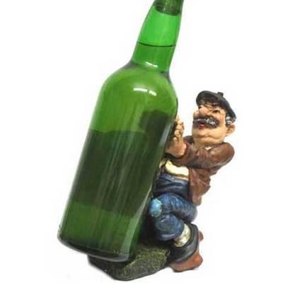 Portador botella vigote