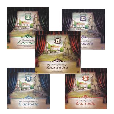 La zarzuela antologia -5 CD