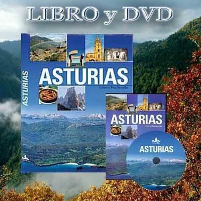 Libro formato grande y DVD sobre Asturias
