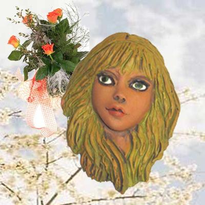 Mascara pequeña mitologia Xana