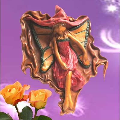 Xana mariposa cuero artesanal