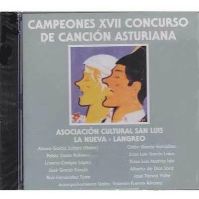 Campeones XVII concurso de la canción asturiana