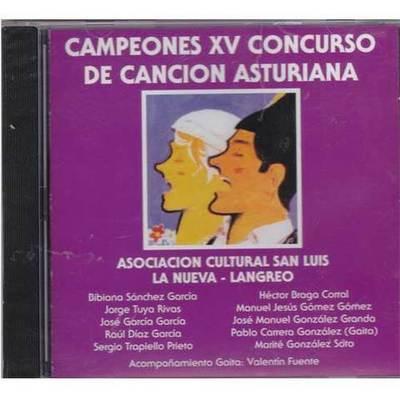 Campeones XV concurso de la canción asturiana