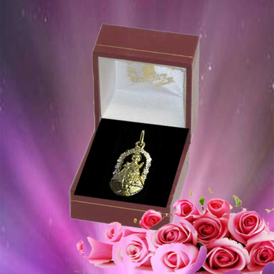 Virgen de Covadonga Capilla oro