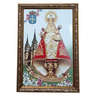Azulejo Virgen Covadonga basílica