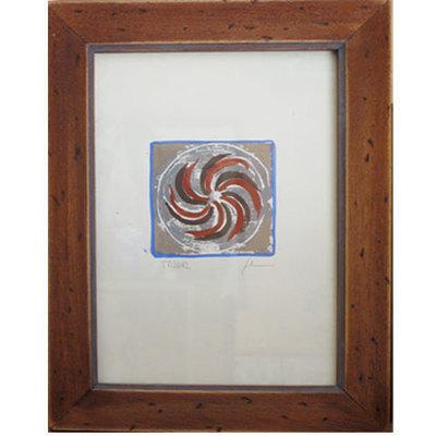Acuarela Espiral motivo celta