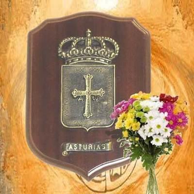 Metopa escudo de Asturias