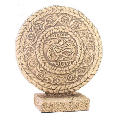 Medallon Santa Maria del Naranco peana