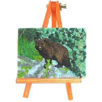 Caballete oso