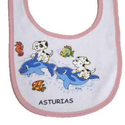 Baberos Asturias estampados