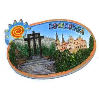 Iman ovalo Covadonga cruces