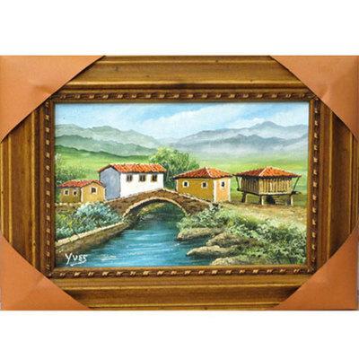 Caserio y horreos asturianos