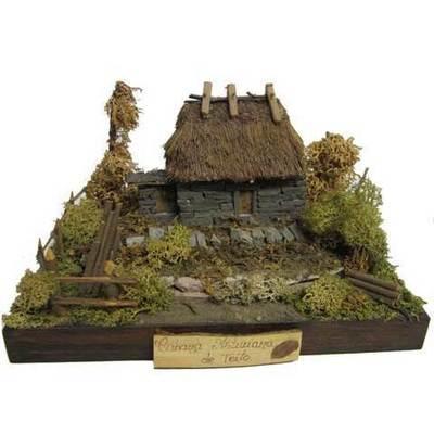 Teito piedra - base madera - mod.3