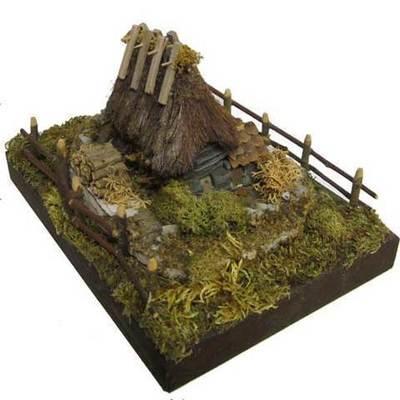 Teito piedra - base madera - mod.4