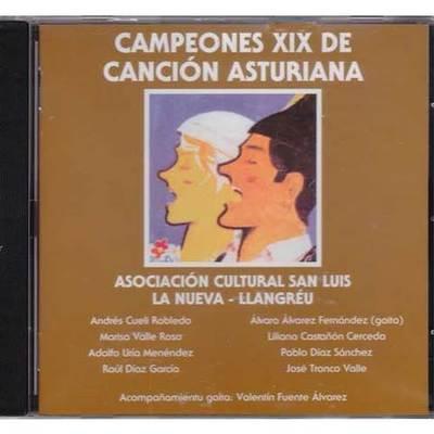 Campeones XIX de canción asturiana