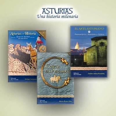 Libros dedicados a la historias de Asturias