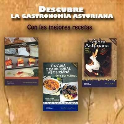 Libros dedicados a la gastronomia y la sidra asturiana