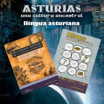 Libros dedicados a la lengua asturiana