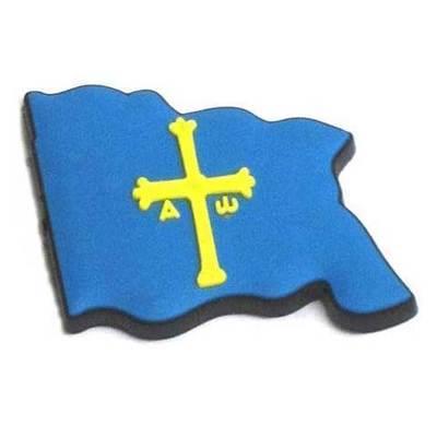 Imanes goma Bandera de Asturias