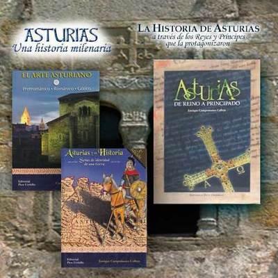 Libros dedicados al reino  y principado de Asturias
