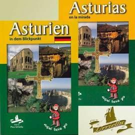 ASTURIAS en castellano y alemán ( pastas semirigidas)