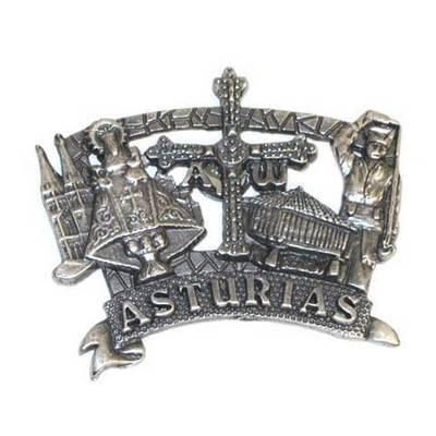 Iman metal varios motivos asturianos