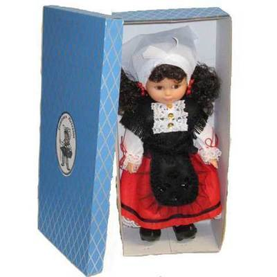 Muñeca traje tradicional mediana