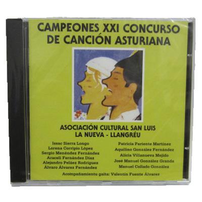 Campeones XXI de canción asturiana